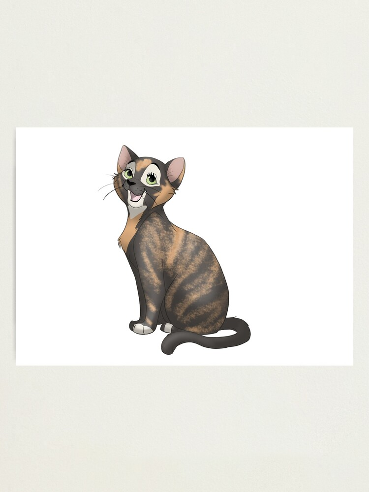 Alternate view of Chatty tortie cat Photographic Print