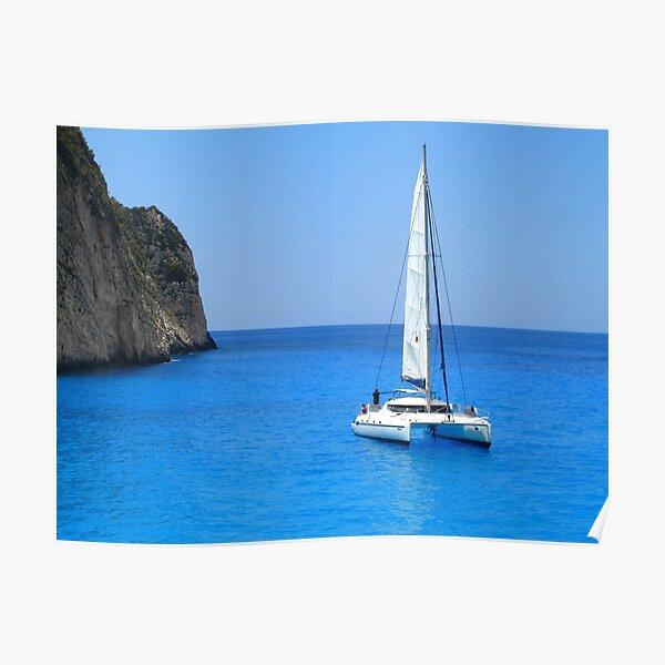 Catamaran - Shipwreck Cove Poster