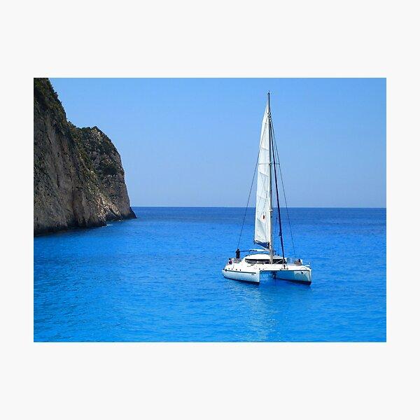 Catamaran - Shipwreck Cove Photographic Print