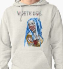 White Girl Pullover Hoodie