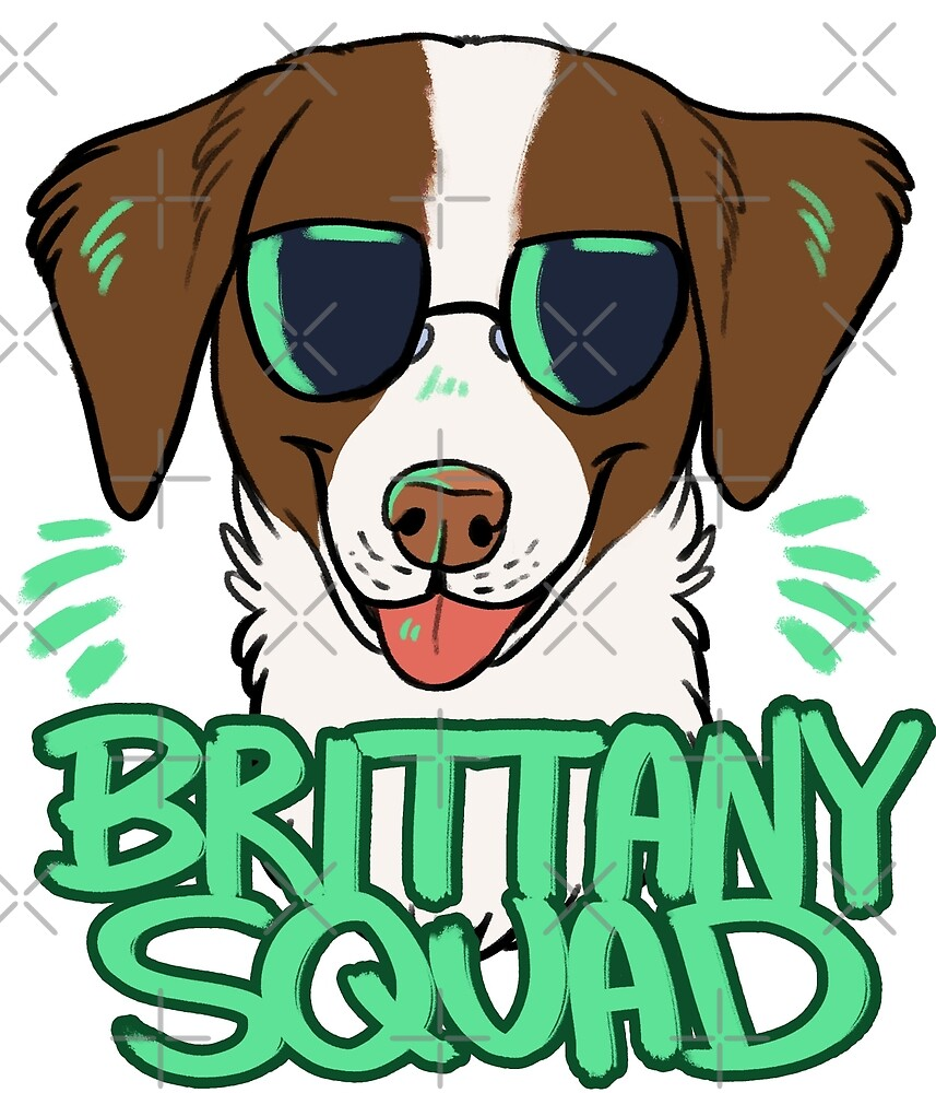 BRITTANY SQUAD (liver) by Dany Gonzalez