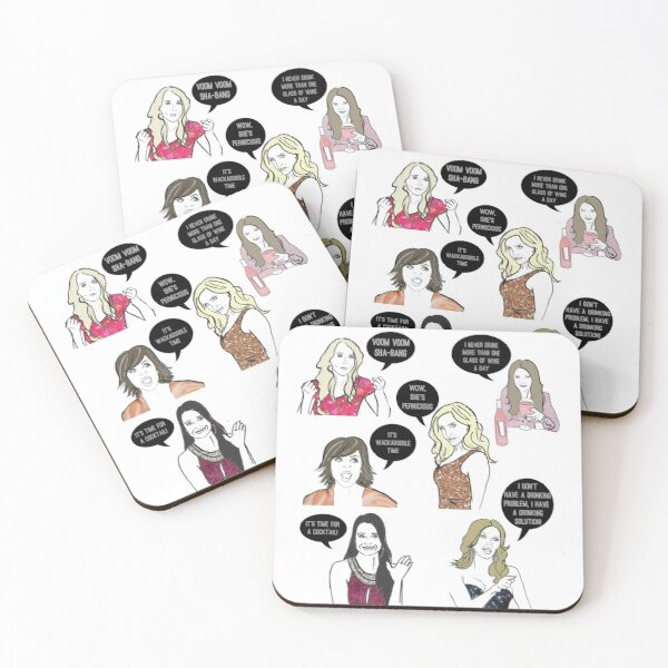 Beverly Hills OGs Coasters (Set of 4)
