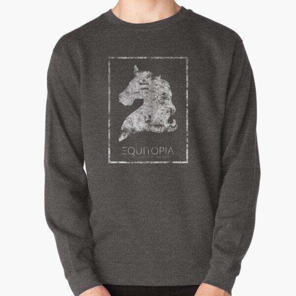 Equitopia Distressed Pullover Sweatshirt