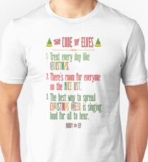Buddy the Elf! The Code of Elves T-Shirt