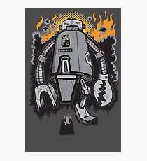 Robot Attack Photographic Print