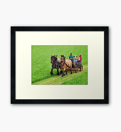 Just for fun.... Framed Print
