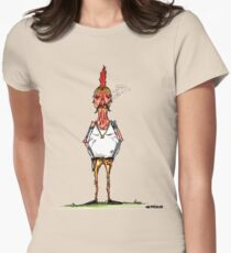 bobby chickenson Womens Fitted T-Shirt