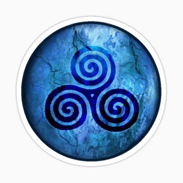 Ancient Celtic Triskele Symbol Sticker