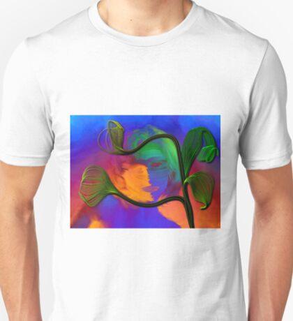 Rainbow Worrier & Happy Plant T-Shirt
