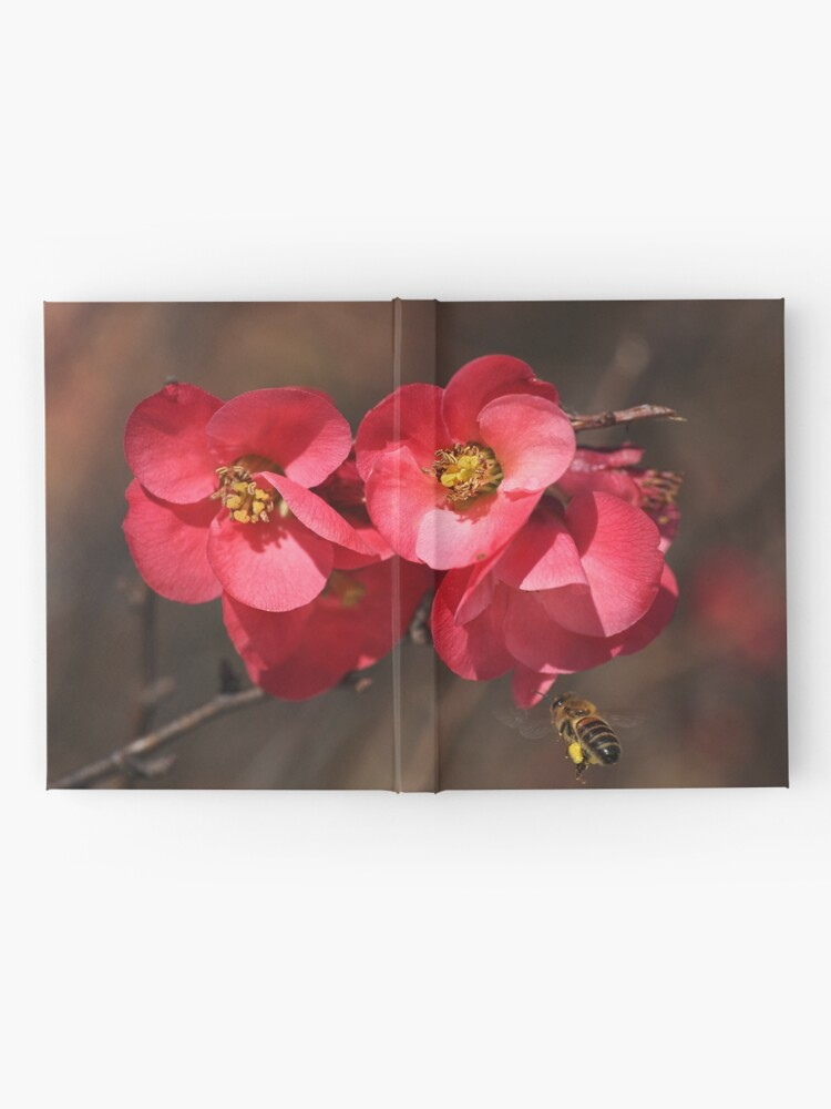Alternate view of Yum - Flowering Quince Hardcover Journal