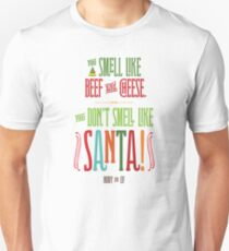 Buddy the Elf - You Don't Smell Like Santa! T-Shirt
