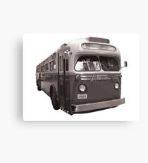 Lienzo New York City Vintage Bus