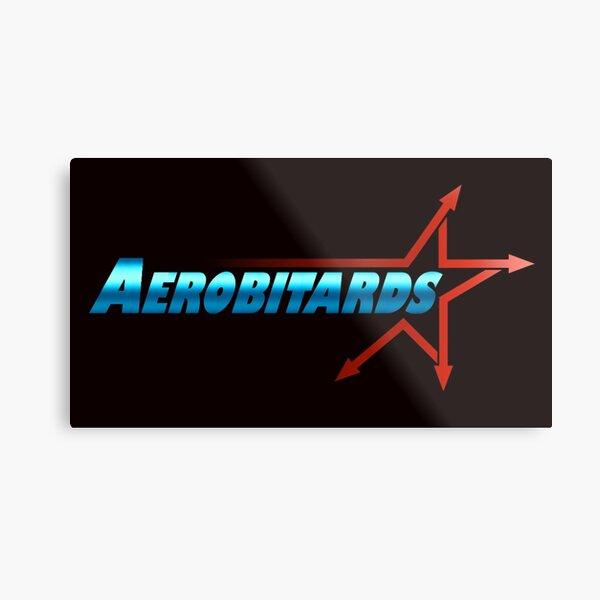 AEROBITARD Verbiage Logo Metal Print