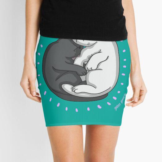 Cats sleeping Mini Skirt
