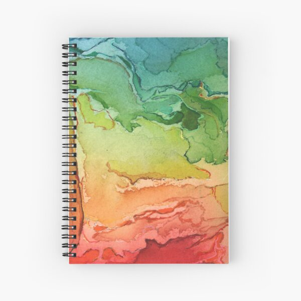 Rainbow Territories 1 Spiral Notebook