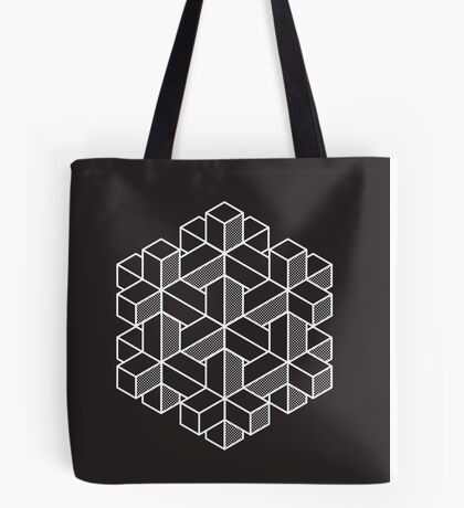 Impossible Shapes: Hexagon Tote Bag