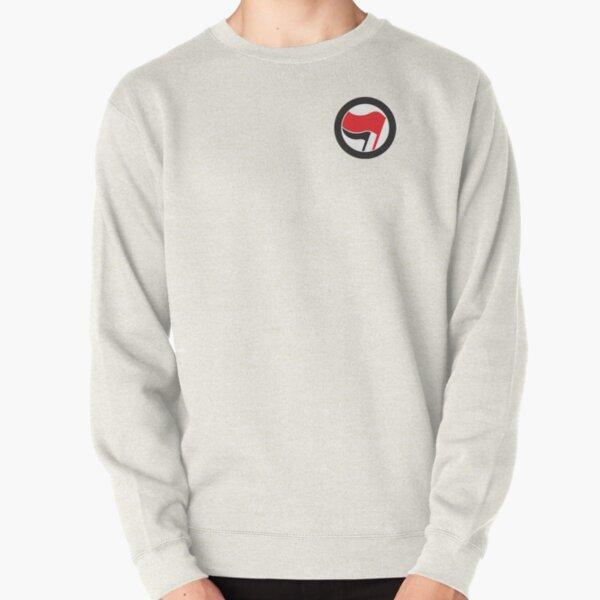 Antifa Sticker Pullover Sweatshirt