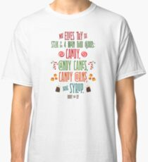Buddy the Elf - The Four Main Food Groups Classic T-Shirt