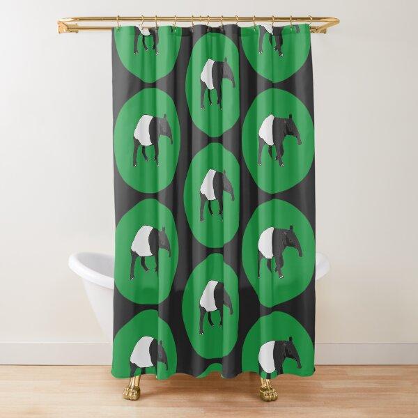 Malayan Tapir Shower Curtain