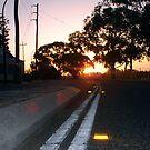 Sunset Nine by Robert Phillips