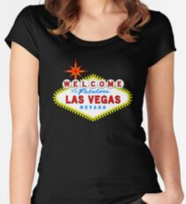 Welcome to Fabulous Las Vegas Women's Fitted Scoop T-Shirt
