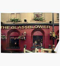 Glassblower Pub Poster