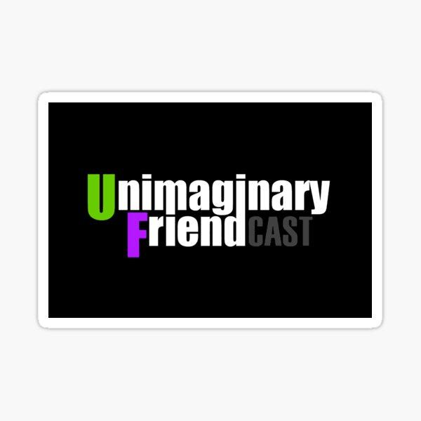 Unimaginary Friend Cast Logo Sticker