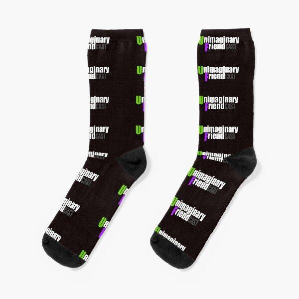 Unimaginary Friend Cast Logo Socks