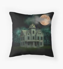 Haunted Mansion Throw Pillow