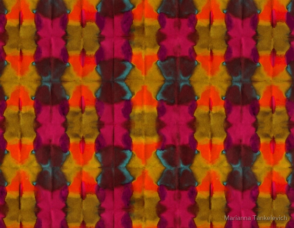 fall pattern  by Marianna Tankelevich