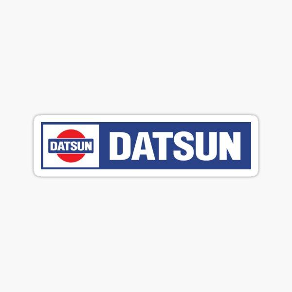 Datsun Logo Remix Sticker
