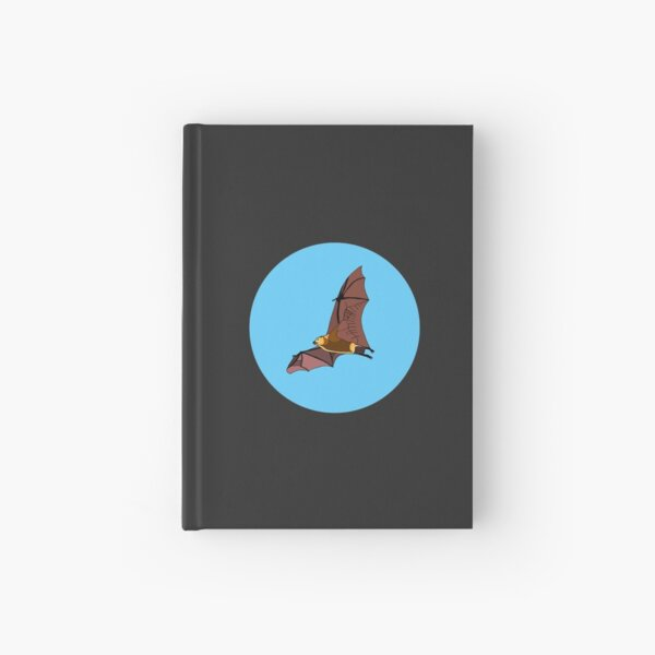 Greater Mascarene Flying Fox Hardcover Journal