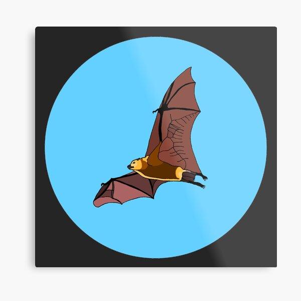 Greater Mascarene Flying Fox Metal Print