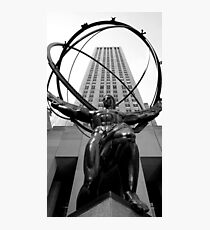 Atlus Statue - New York Photographic Print