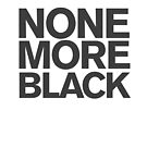 Spinal Tap - None more Black by typeo