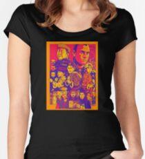 3 Ninjas Fitted Scoop T-Shirt