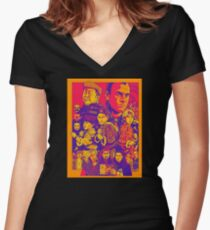 3 Ninjas Women's Fitted V-Neck T-Shirt