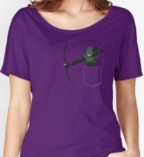 Arrow in my Pocket Women's Relaxed Fit T-Shirt