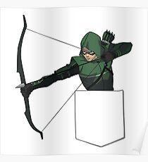 Arrow in my Pocket Poster