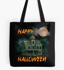 Haunted Mansion - Happy Halloween Tote Bag