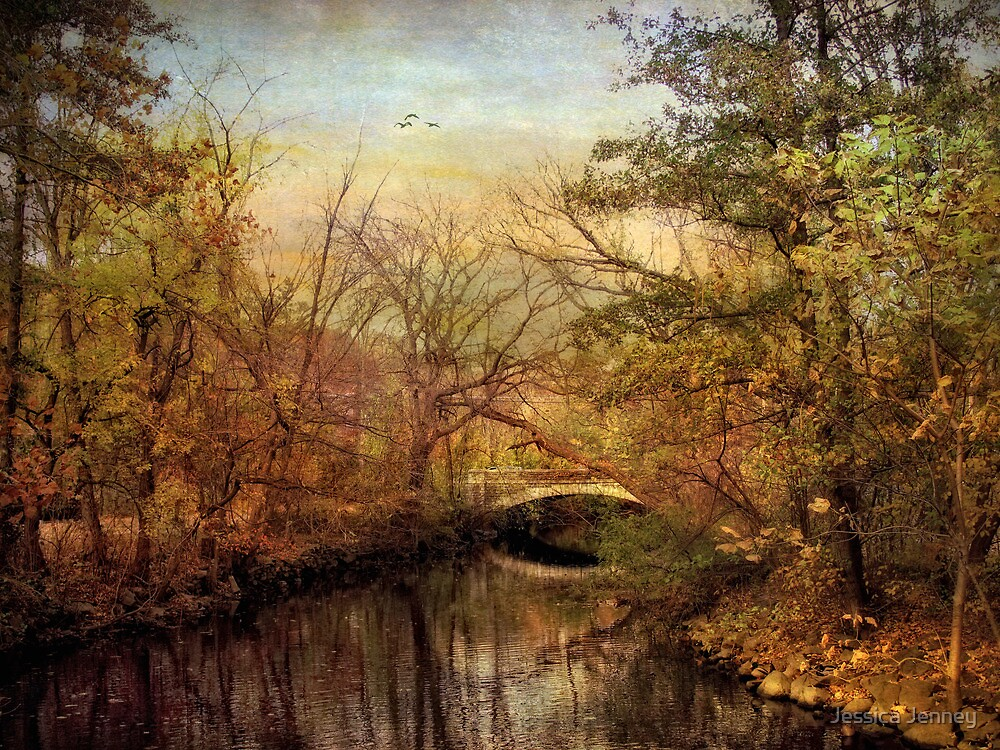 Autumn's Golden Glow  by Jessica Jenney