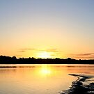 Preston sun set by Marcus Singline