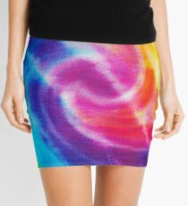 Rainbow Tie Dye 1 Mini Skirt