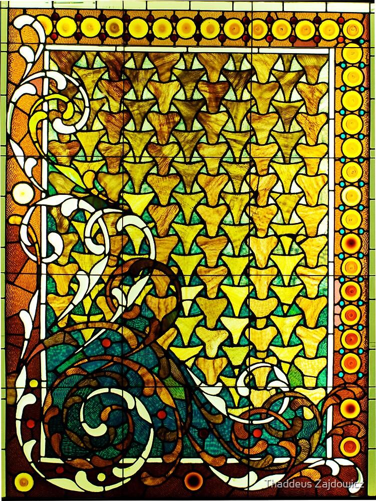 Stained glass window by Thad Zajdowicz