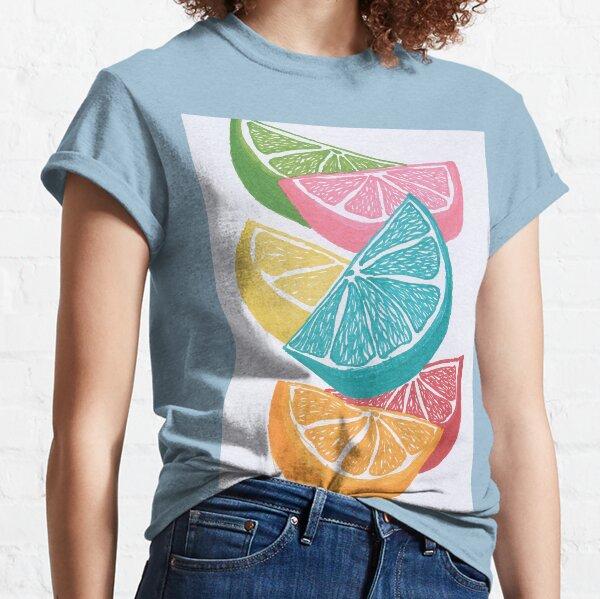 Citrus Wedges Classic T-Shirt
