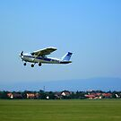 Dunkeszi Airport, Take off...Hungary, 2011 by ambrusz