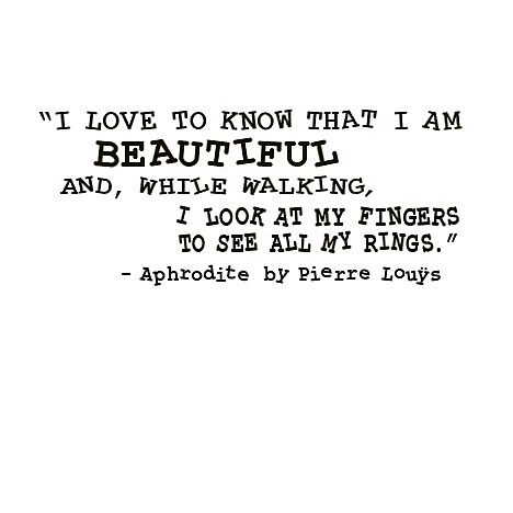 """Aphrodite""  book quote by badhabitrabbit"