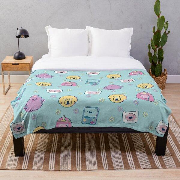 Adventure Friends (Adventure Time) Throw Blanket