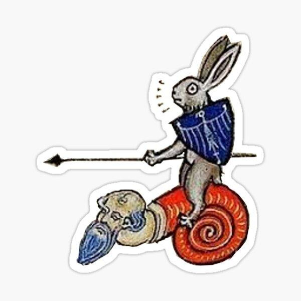 Ulrich von Rabbitstein Sticker