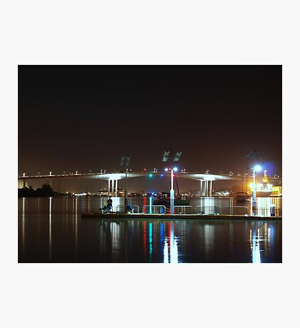 Night Fishing Photographic Print
